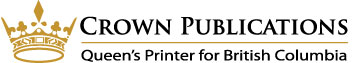 Crown Publications - Queens Printer for British Columbia