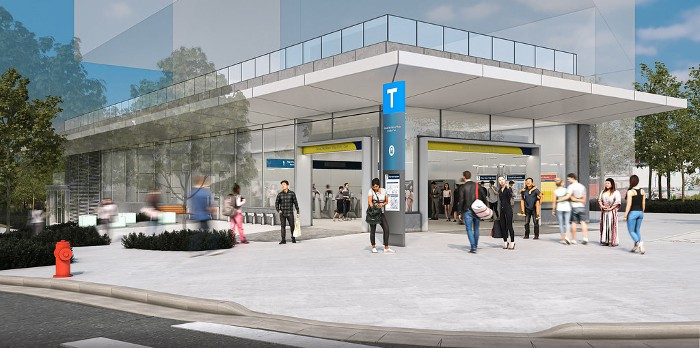 Updated Broadway Subway Exterior Station Designs Open to Public Input