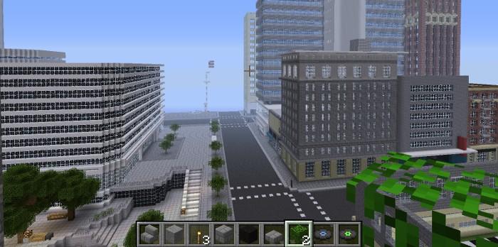 Kelowna Minecraft World a Gateway to Explore Open Data